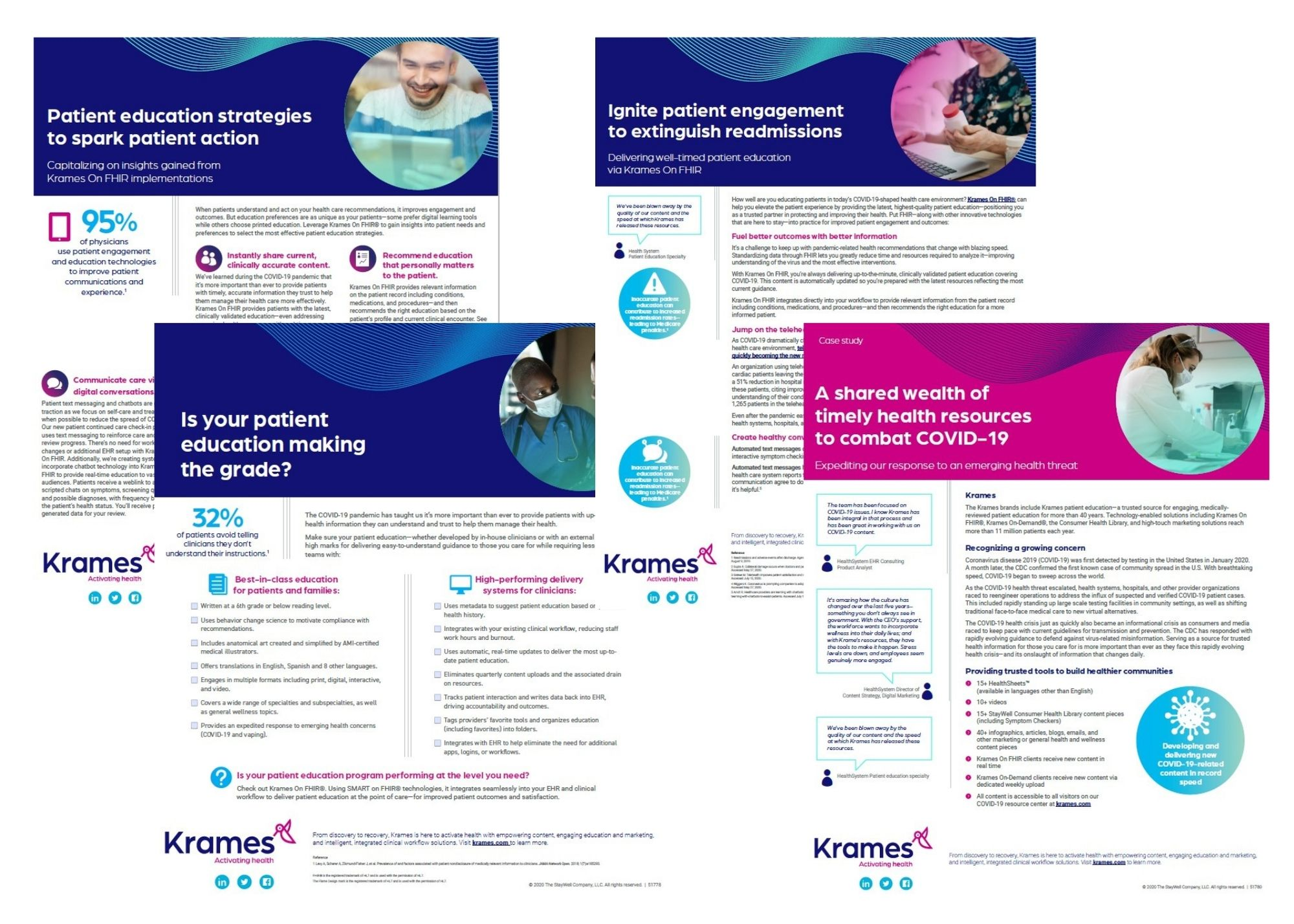 Patient education content bundle